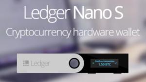 Ledger Nano S(レジャーナノエス)