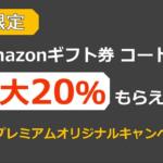 【ふるさと納税】 Amazonギフト券 最大20%がもらえるプレゼントキャンペーン
