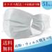【2,995円】マスク 50枚 +1枚 17枚×3袋 送料無料 お一人様2点まで