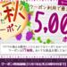 【11月15日まで】最大5,000PT!☆クーポン17種!
